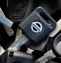 Nissan car key replacement
