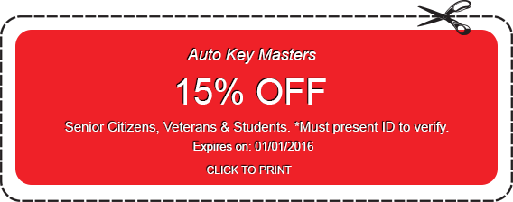Locksmith coupon 15% off
