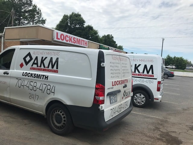 Locksmith Services in Charlotte NC | AKM Auto Key Masters