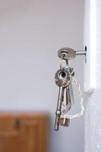 door lock mechanism is broken